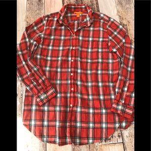 Joe Fresh plaid shirt size L